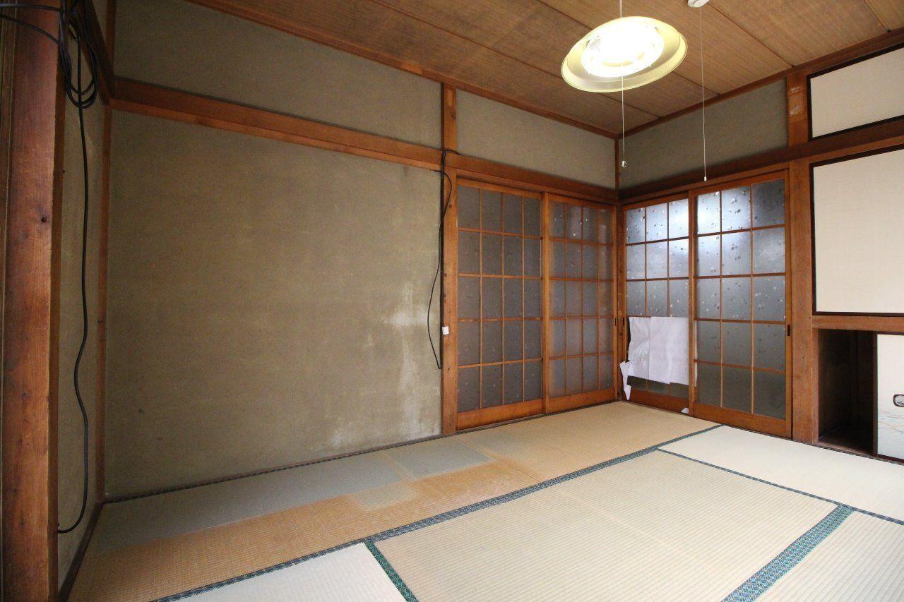 京壁をクロス貼に、畳をフローリングにする予定