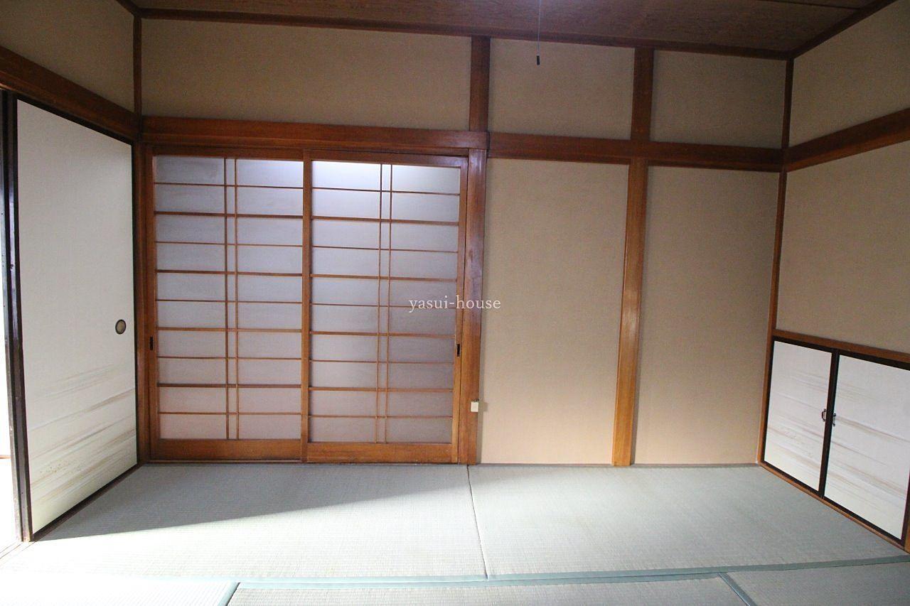 和室6.0 ガラスの引違戸