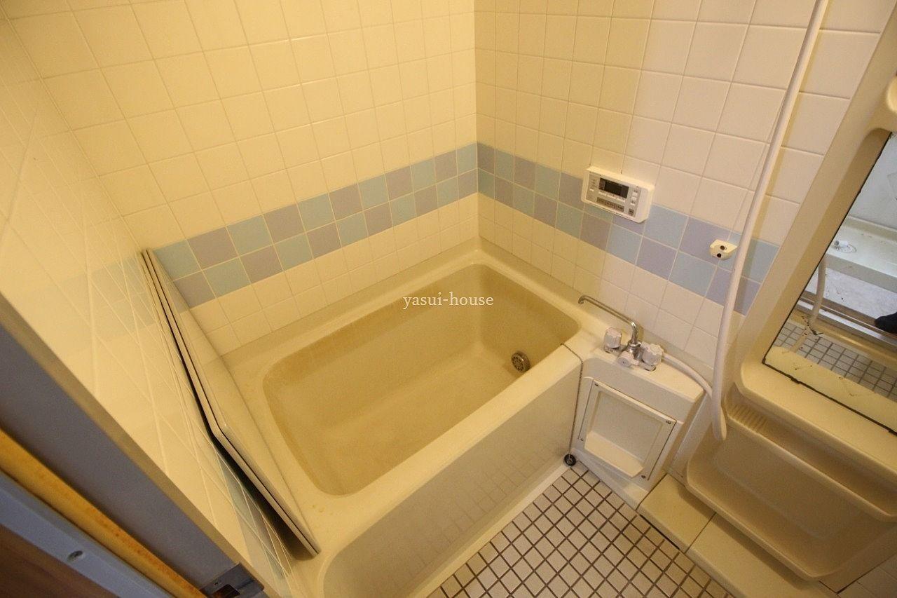 お風呂 追焚機能付き、2枚の風呂ブタ