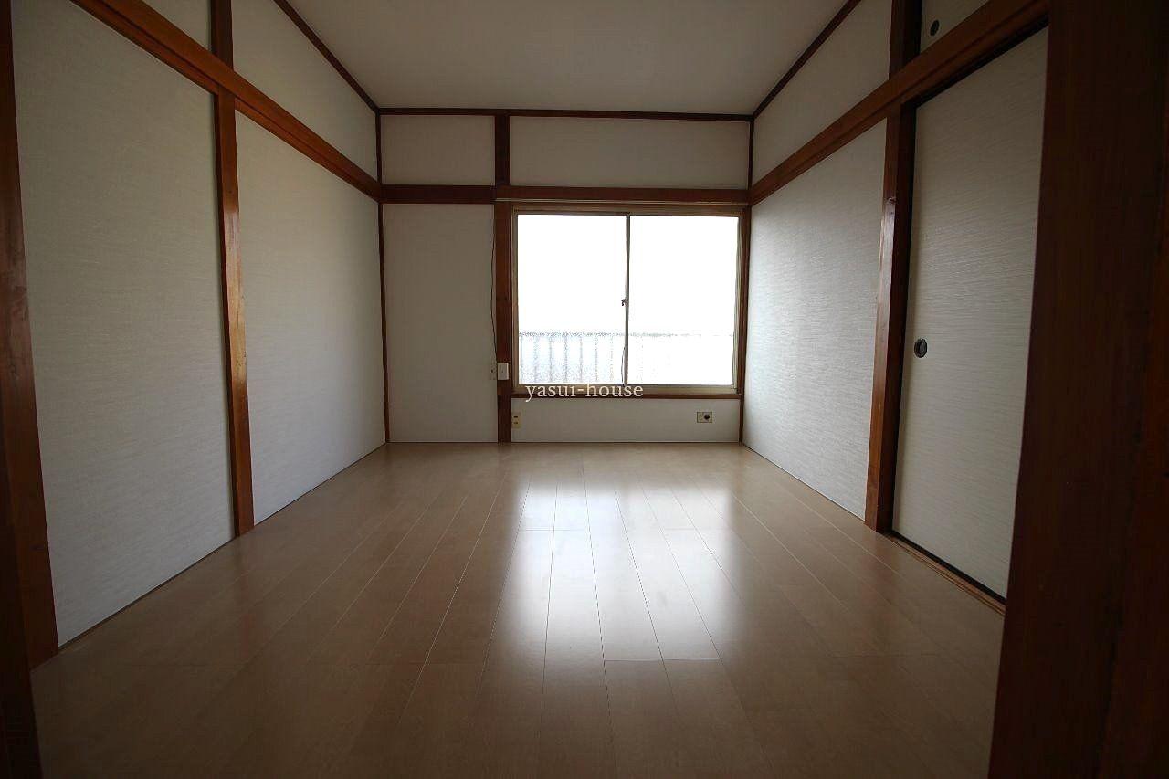 洋室 和室を洋室に変更しました