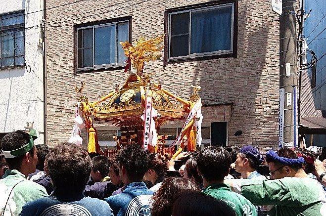 三町巡幸行列 高木神社