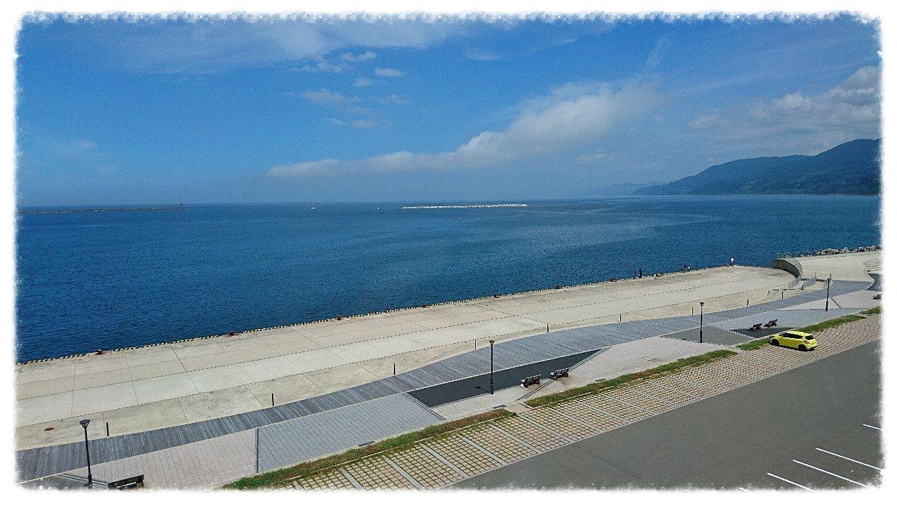 輪島キリコ会館展望ロビーからの眺め