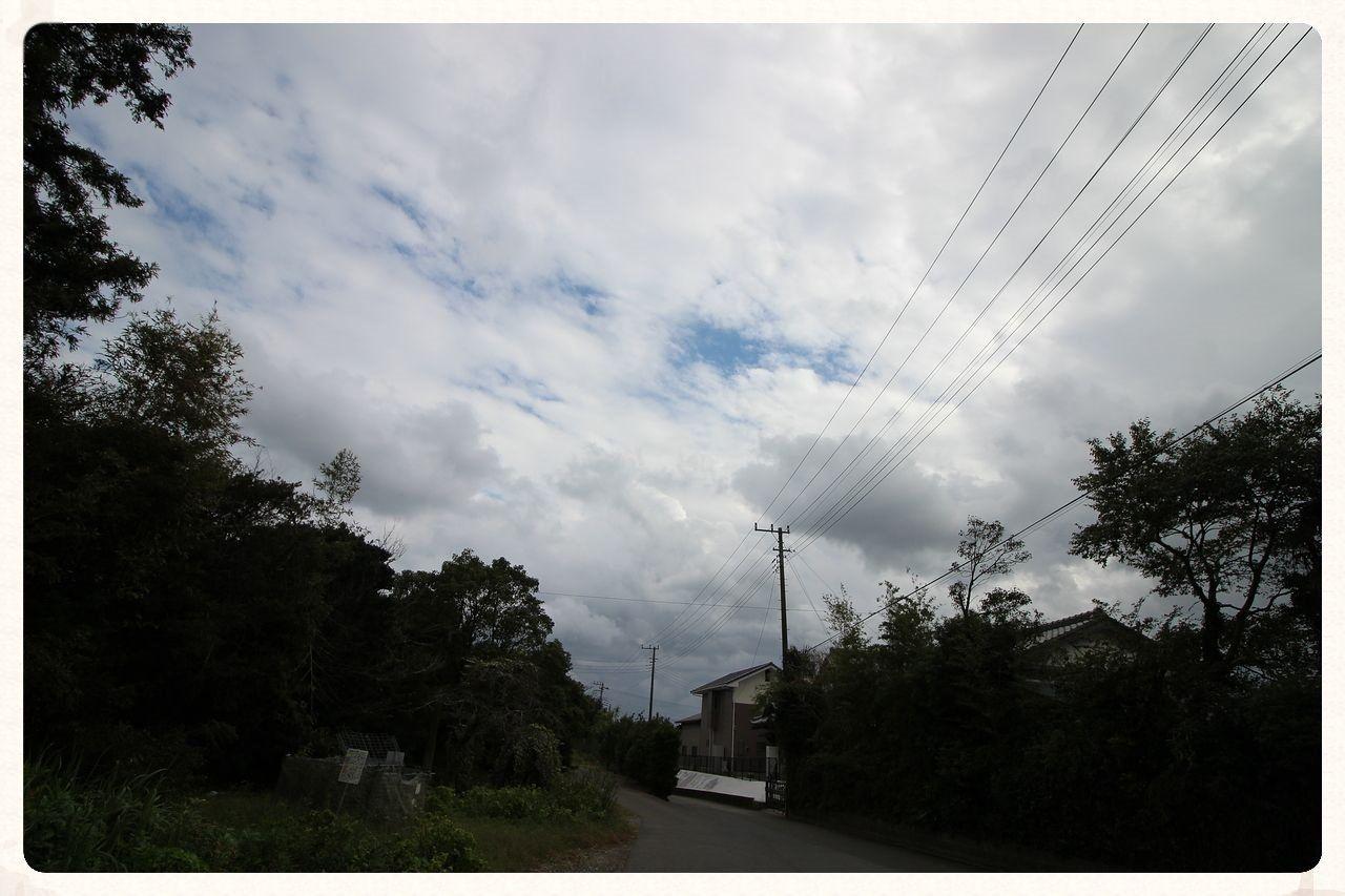 10月の江場土の空