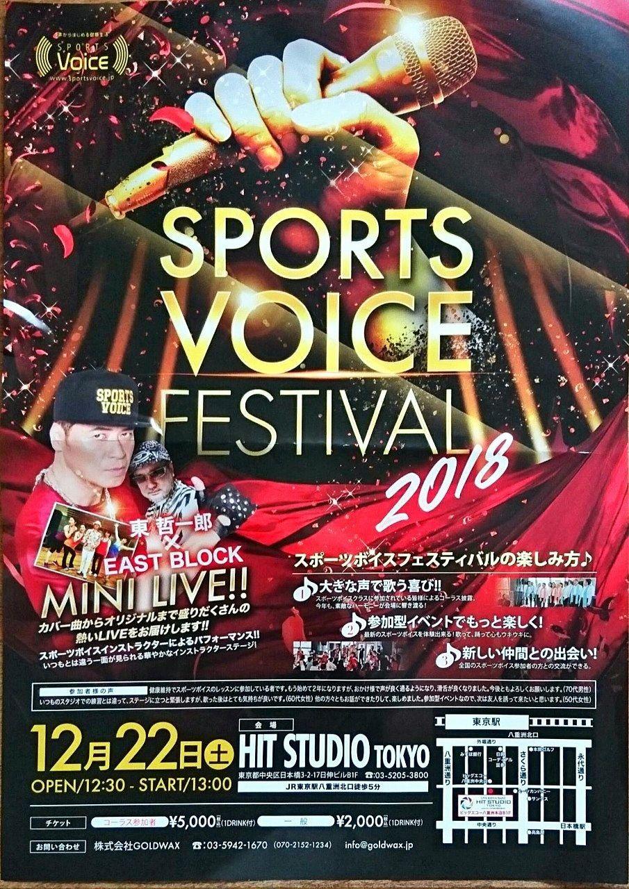 sports voice festival 2018