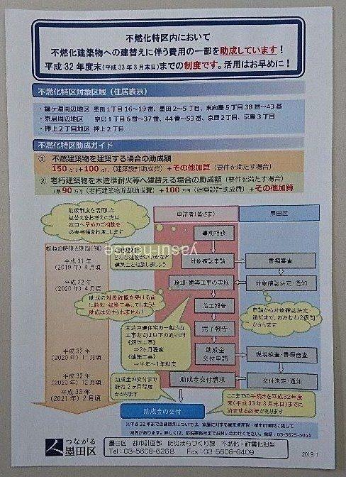 墨田区木密地域/平成32年度末までの制度